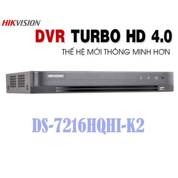 Đầu Ghi Hình DS-7216HQHI-K2 Giá Rẻ
