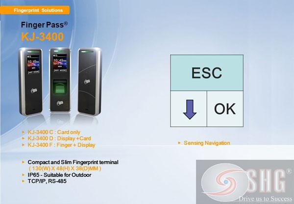 May cham cong KJ3400 (C) EM/5K gia re