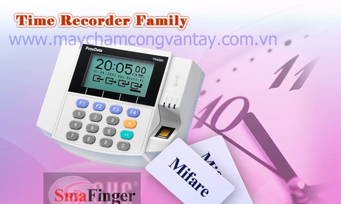 May cham cong TR4050 Promag gia re