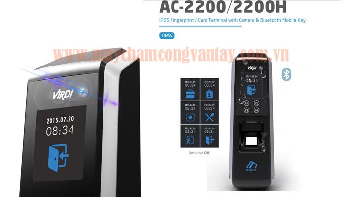 May cham cong kiem soat cua ra vao VIRDI AC-2200