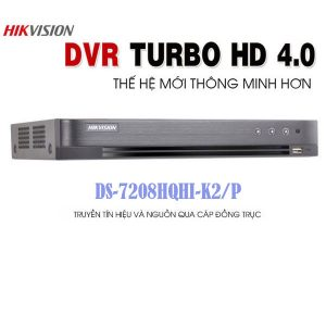 Đầu Ghi Hình DS-7208HQHI-K2/P Giá Rẻ