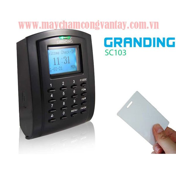 May cham cong Granding SC103