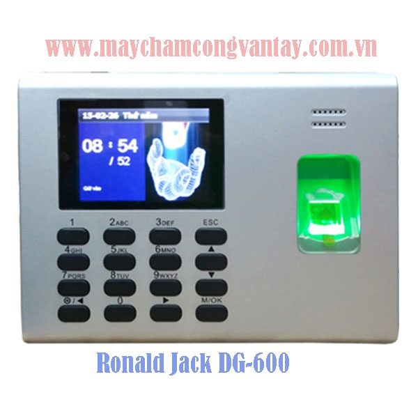 May cham cong van tay Ronald Jack DG-600 gia re