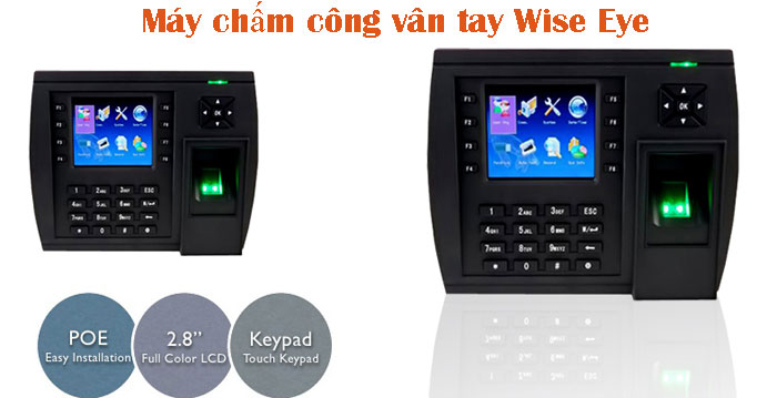 May cham cong van tay Wise Eye