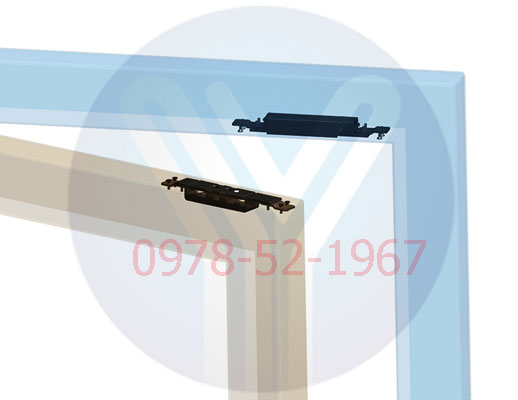 Lap khoa tu YM-2400SL mo 2 chieu