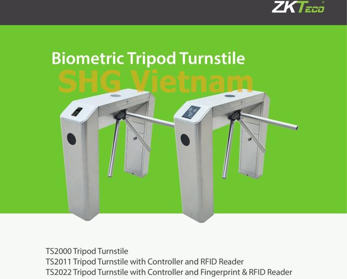 Cua xoay tripod 3 cang TS2000 ZKTeco