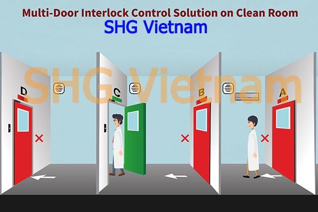 Khoa Cua Lien Dong Interlock Phong Sach